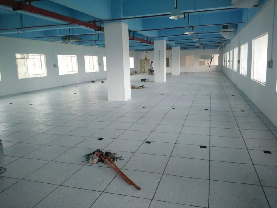 西安oa 网络架空地板厂家直销 未来星pvc防静电地板性价比高 防火板