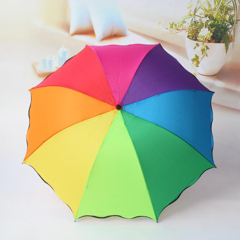 给自己的女朋友送上一款颜色亮丽,包装可爱的酒瓶伞,不仅仅表达了对女
