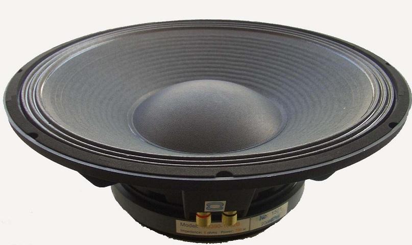 现货供应,黑锅底内磁纸盆,音箱喇叭扬声器