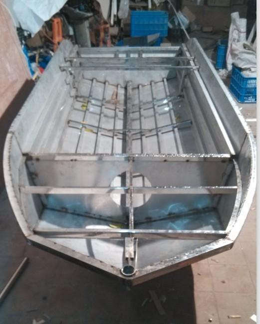 不锈钢渔船 钓鱼船 天津不锈钢制品厂家新品图片
