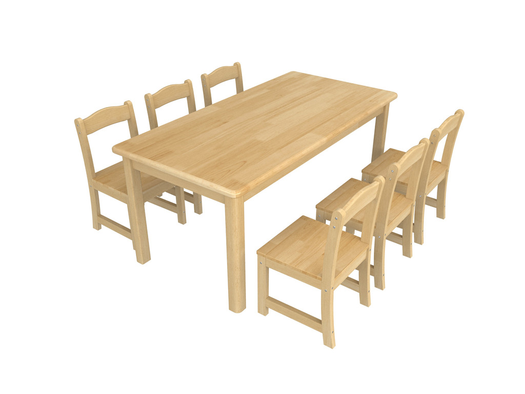 河北家具智拓星实木幼儿园桌椅高碑店家具城便宜广东哪个图片