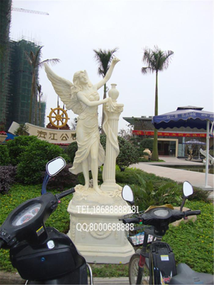 广州房地产园林景观雕塑 玻璃钢户外欧式大型雕塑摆件