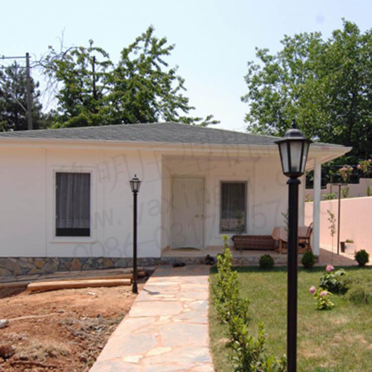 小户型轻钢别墅 小面积轻钢结构房屋 集成轻钢别墅