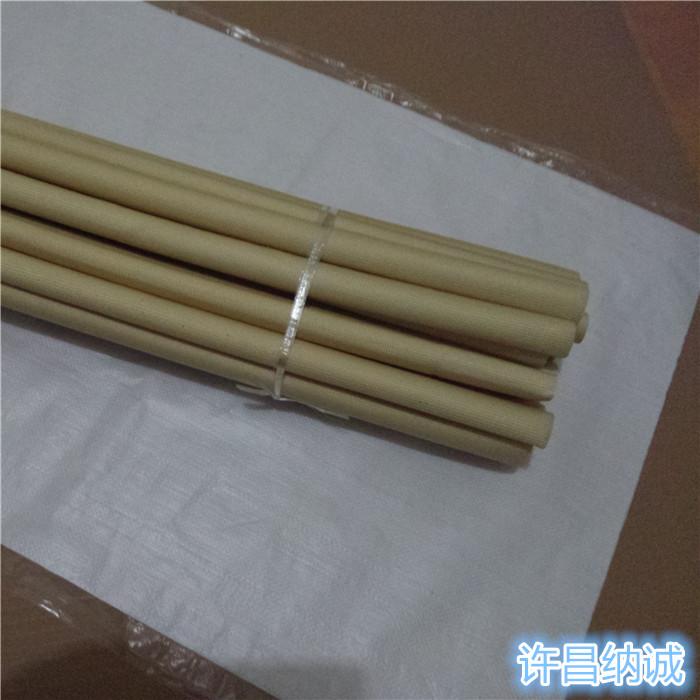 许昌纳诚耐高温180度绝缘套管2751硅橡胶玻璃纤维管硅树脂管