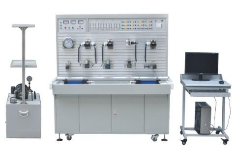 sg-gy20工业型液压传动与plc控制实训装置图片