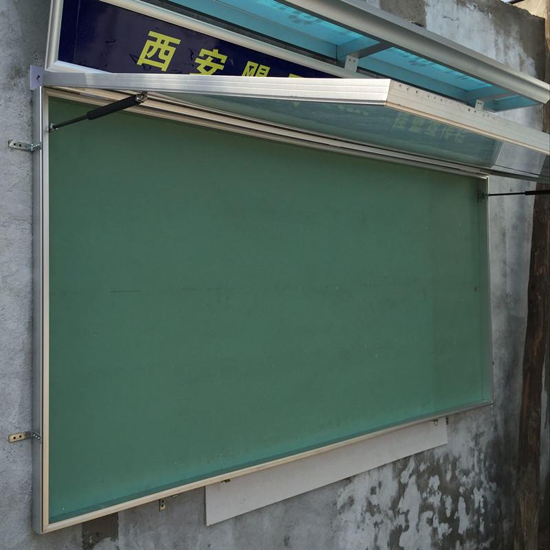 超薄挂墙宣传栏, 铝合金橱窗