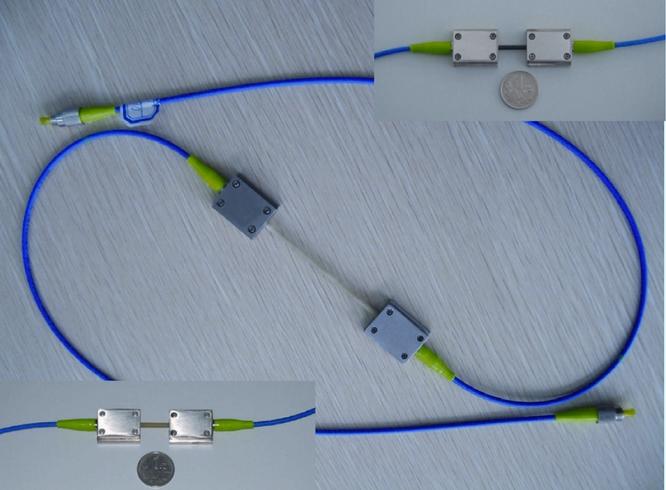 光纤光栅表面式应变传感器