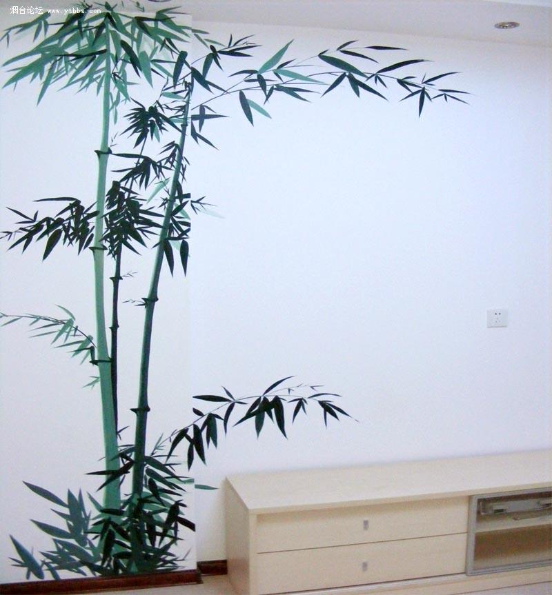 居家手绘墙 商业场所墙画 艺术样板房手绘 3d立体画 幼儿园墙绘 手绘
