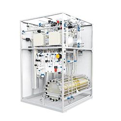 加拿大氢能10立方水电解制氢机
