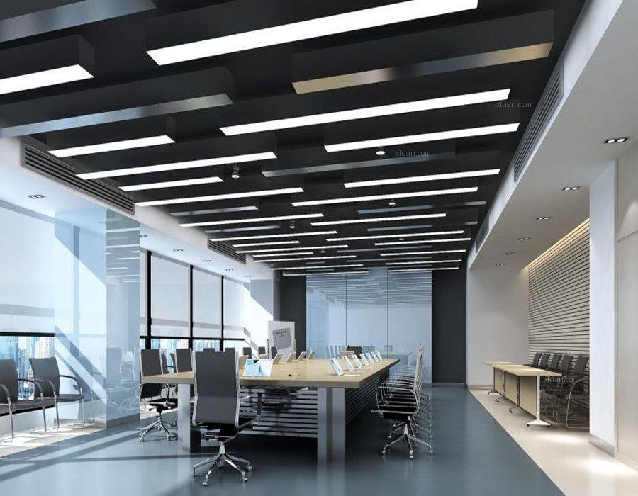 2017现代办公室装修简约风格