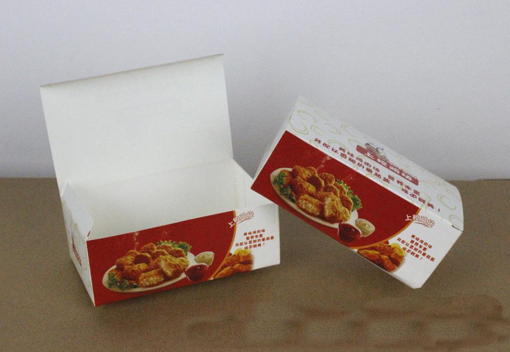 炸鸡纸盒包装/汉堡打包盒/披萨外卖盒定做/成都餐盒