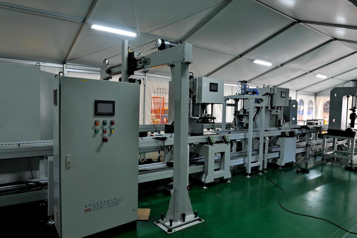 新能源锂电池pack生产线/自动分拣输送系统