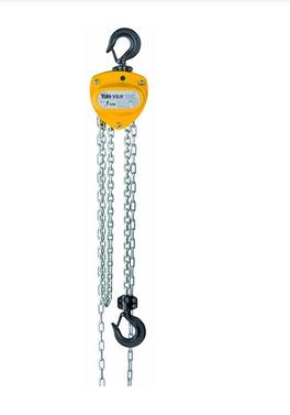 YALE手动环链葫芦_导链机构手动环链葫芦VS III 型