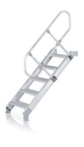 ZARGES梯子-具有舒适的踏板和扶手梯子Z600