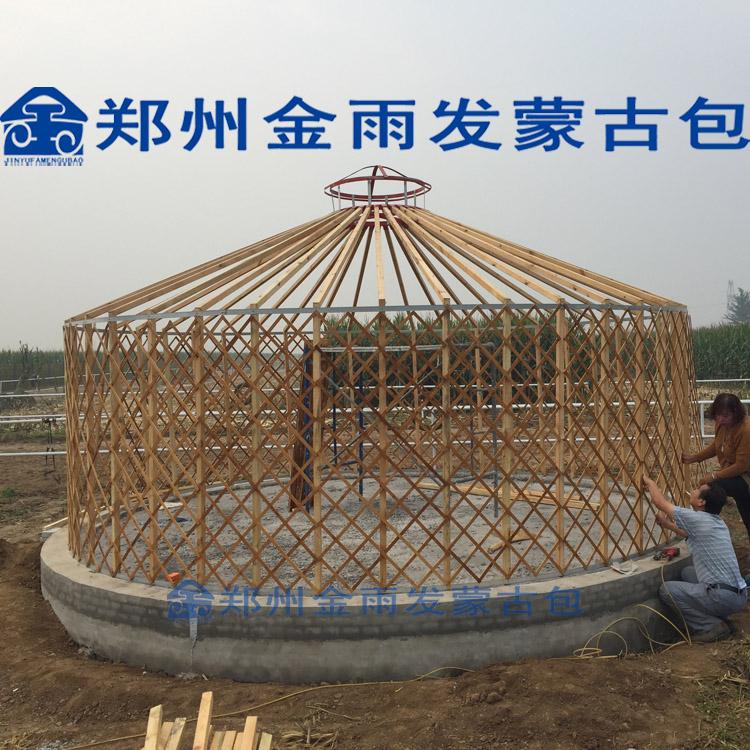 河南蒙古包厂家买优质蒙古包就到郑州金雨发蒙古包厂