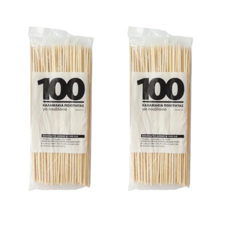 出口竹制品一次性竹签250*2.5MM