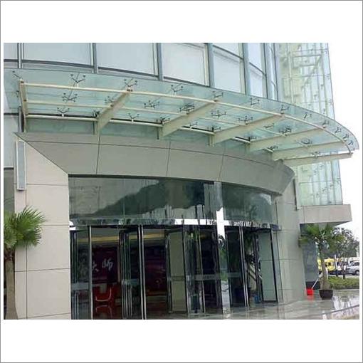 广州钢结构雨棚设计外观|钢结构雨棚设计价格