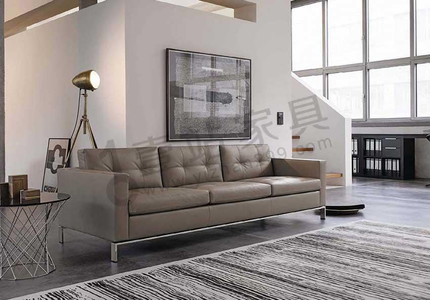 深圳办公室沙发 舒适的现代办公沙发 休闲沙发现货供应 厂家直销_壹站办公家具
