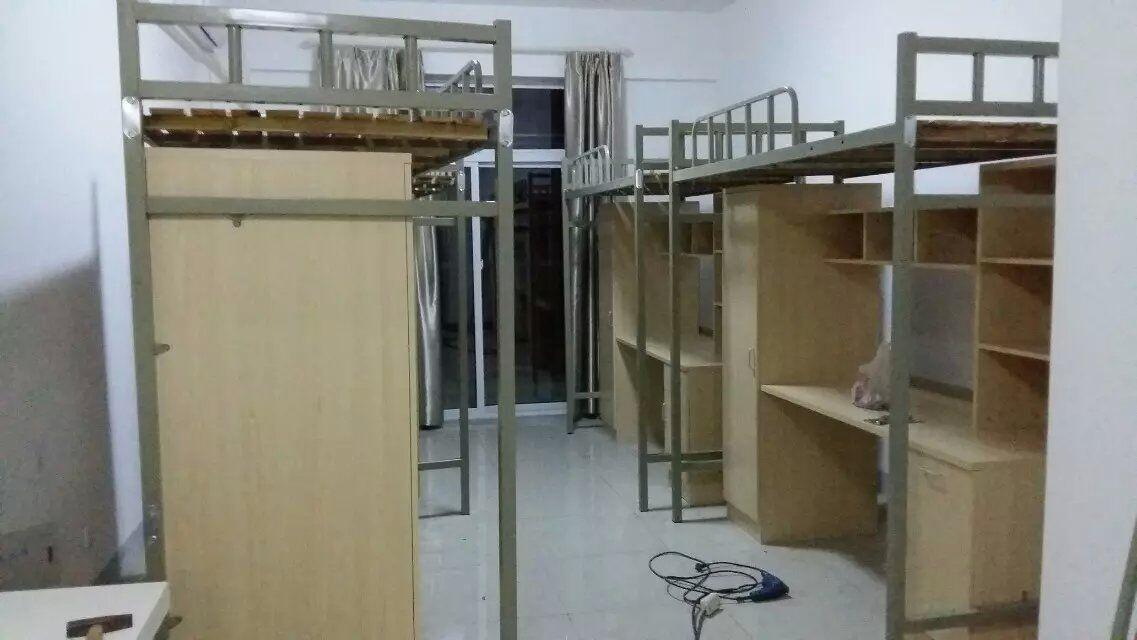 合肥经开区出售新款上下铺床,学生公寓床,高低