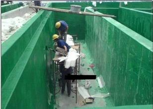 松原污水池防腐水池玻璃钢防腐水池环氧树脂贴布防腐13770001865
