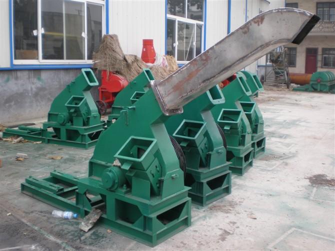 郑州木材削片机 柴油机切片机 碎木机 盘式鼓式削片机