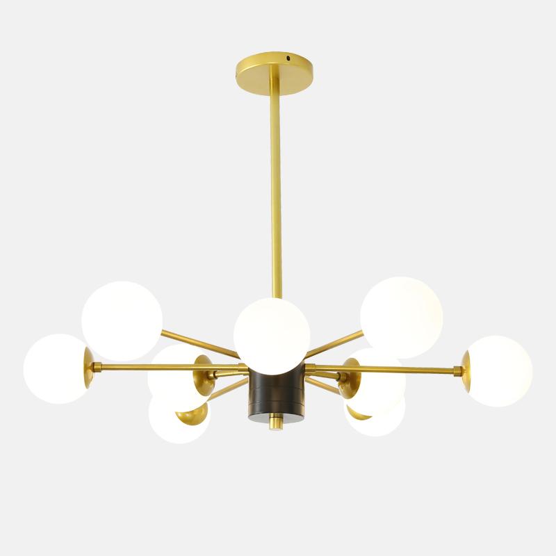 中山灯饰厂家批发现代客厅装修创意简约吊灯 新款吊灯图片
