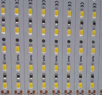 12V 12MM宽1.3米长78灯5730 5630铝基板硬灯条