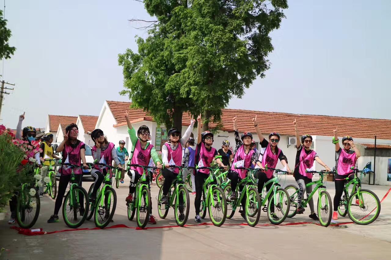 上海长兴岛桔园体验式骑行拓展_特色户外团建活动