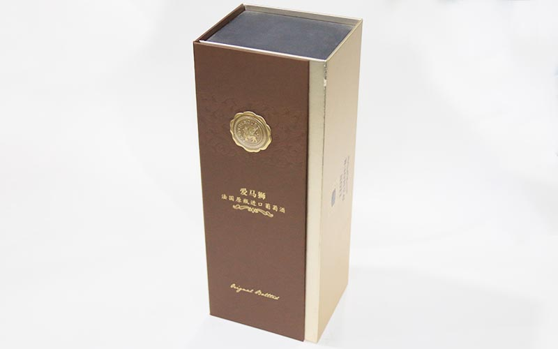 深圳红酒包装盒定制图片