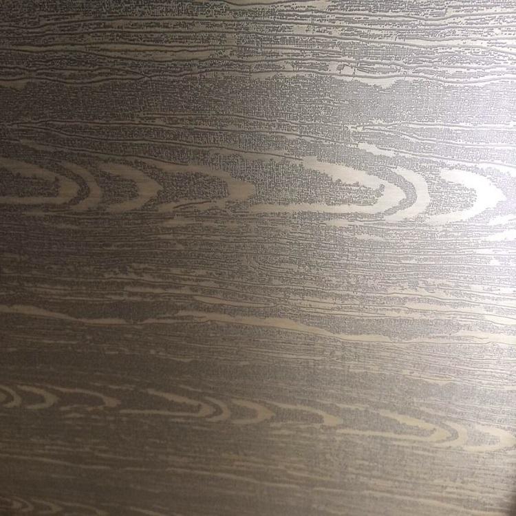 佛山高比304不锈钢木纹青古铜装饰板
