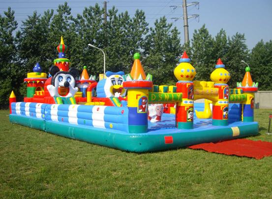 厂家热销儿童充气城堡 亲子游乐充气城堡 儿童游乐园充气城堡主题设计
