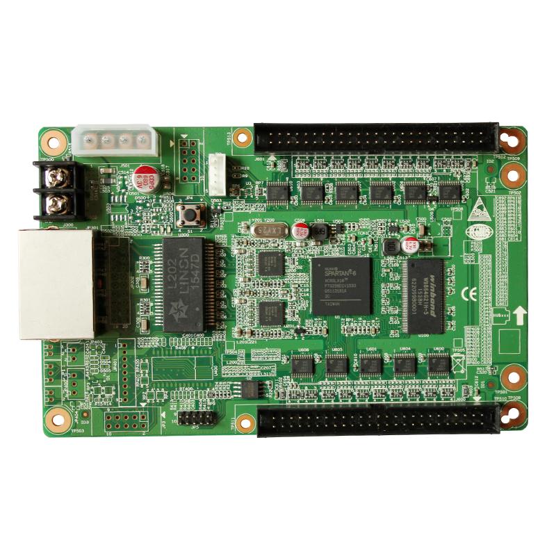 RV901T灵星雨接收卡单双色全彩控制卡兼容rv801d半户外p10
