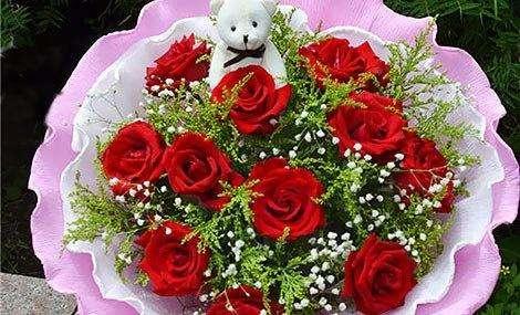 中国七夕节,元宵节)传情达意可以选择]花卉.图片