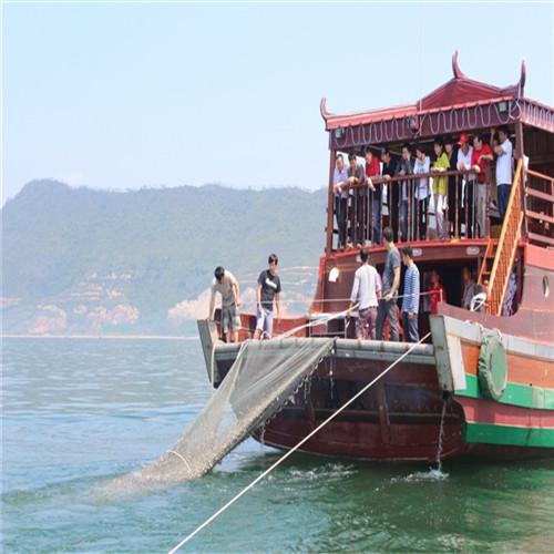 许洲岛有什么好玩.出海捕鱼找南港休闲渔业