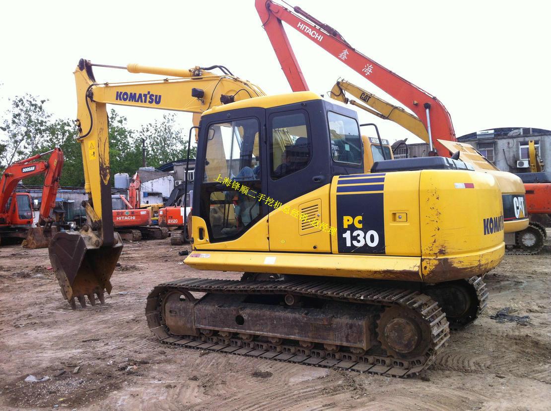 二手小松130挖机低价出售