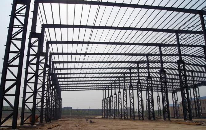 常熟大跨度钢结构厂房 大跨度钢结构厂房供应商