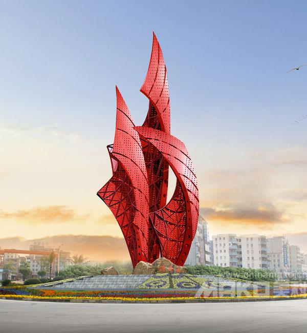 不锈钢 城市雕塑 建筑大型雕塑