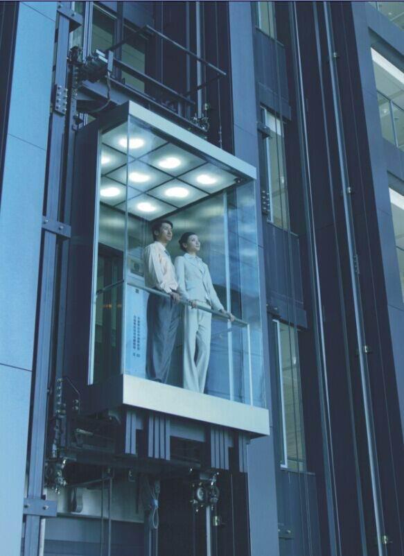 观光电梯安装