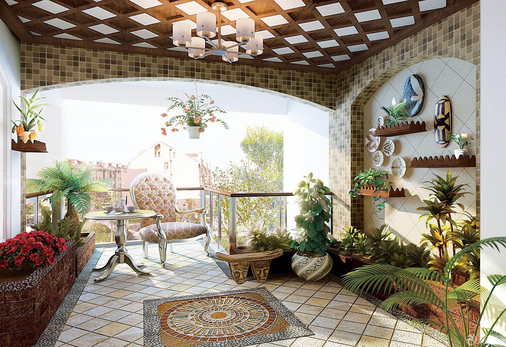 四川成都入戶花園設計打造-尚鼎豐值得你信賴