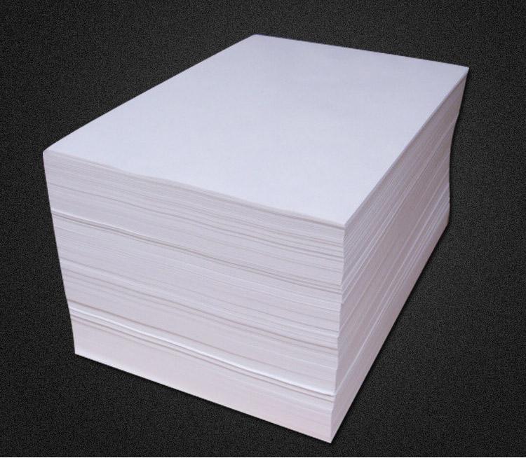 廠家直銷60g高白一體機雙膠紙雙膠紙原白一體機速印紙8K9K