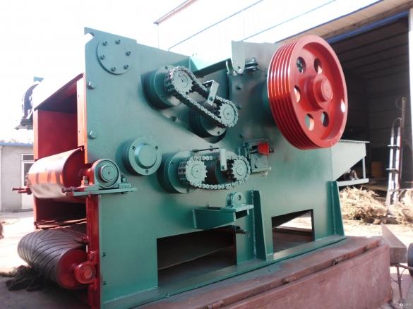 供应 免基础216型鼓式切片机 大型218木材削片机 全自动竹木打片