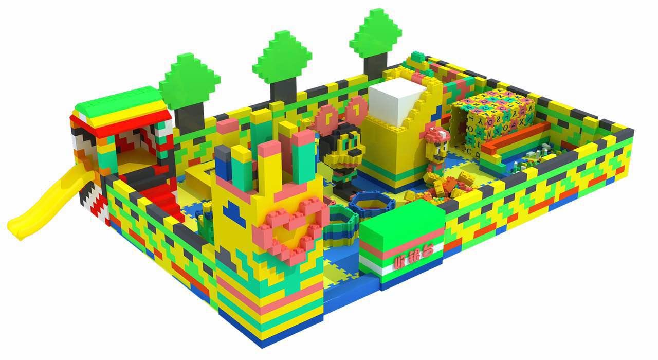 大号大型积木城堡 软体epp积木乐园 儿童游乐场室内