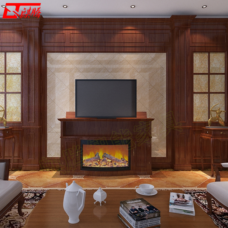 升降式电视柜 隐藏式电视柜