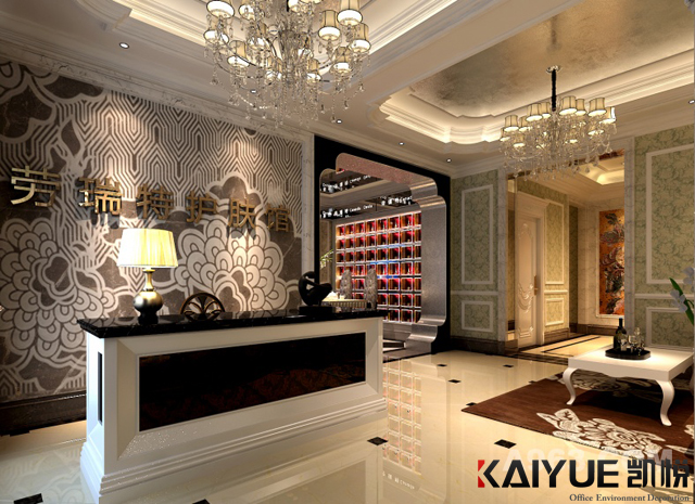 经典欧式风格的室内设计-美容院