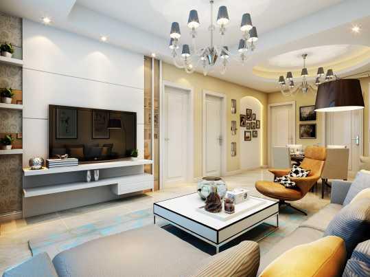 杭州家庭裝修,湖州客廳設計,標典裝飾工程