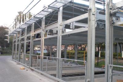 山东三维钢结构车库构件加工