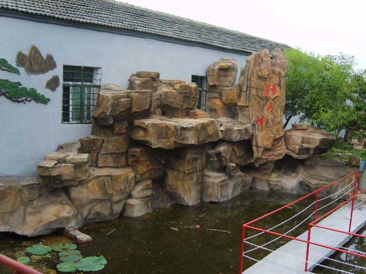 塑石假山制作方法i水泥塑石假山的制作步骤