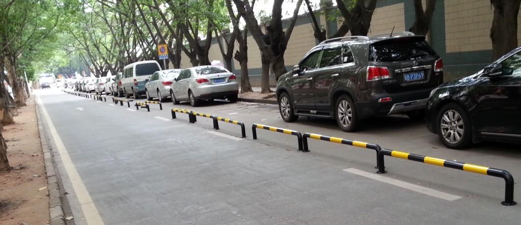 吴停车场护栏非机动车道安全护栏通道护栏厂家直销