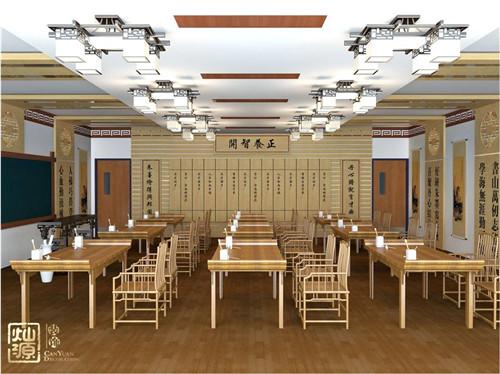 南寧教育空間設計裝修之國學教育裝修招生法寶