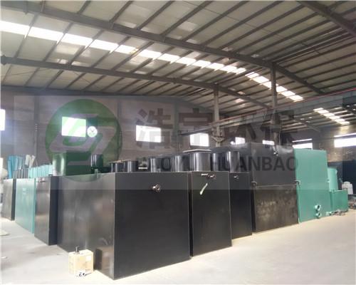 迪庆藏族自治州医院污水处理设备多少钱